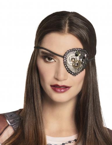 Cache oeil steampunk femme