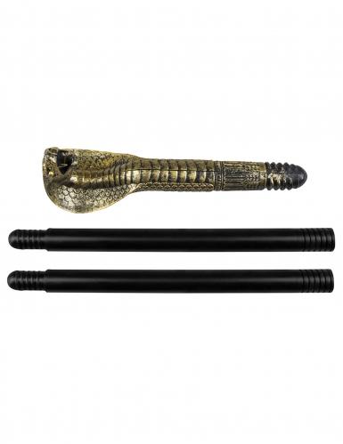 Sceptre serpent égyptien 82 cm-1