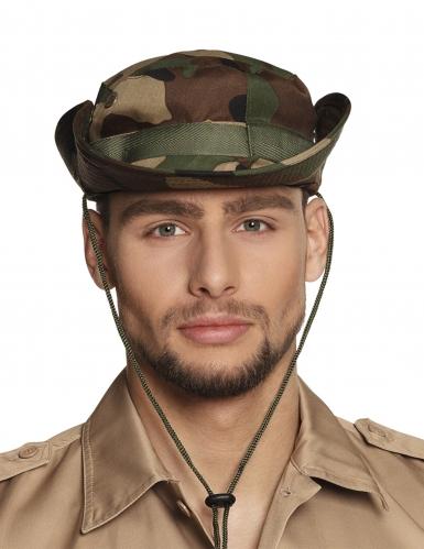 Chapeau camouflage militaire adulte