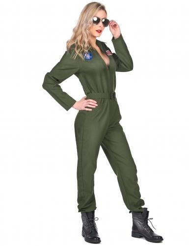 Déguisement pilote d'avion femme-1