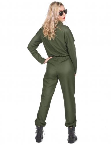 Déguisement pilote d'avion femme-2