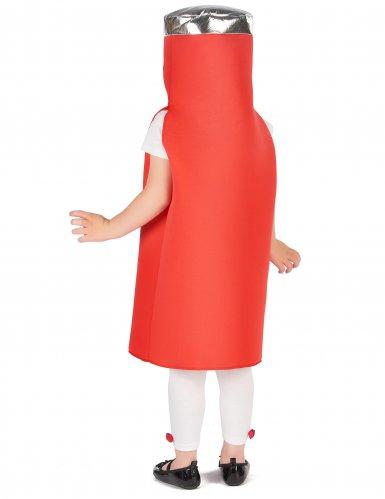 Déguisement ketchup enfant-3