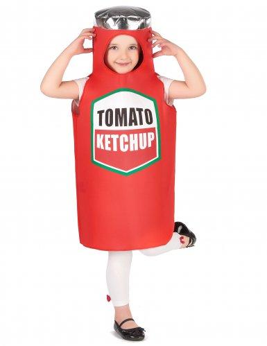 Déguisement ketchup enfant-4