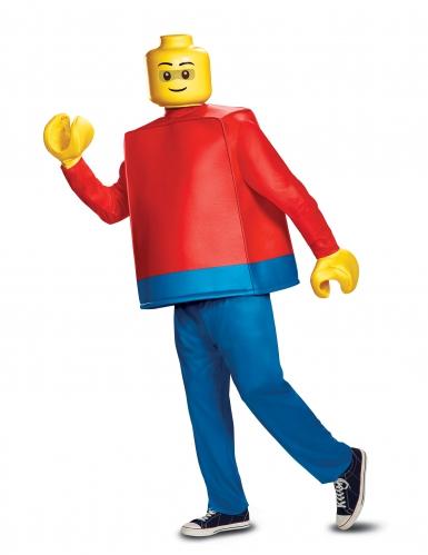 Déguisement luxe bonhomme LEGO® adulte
