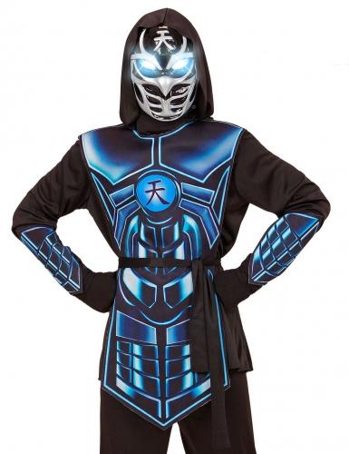 Déguisement cyber ninja lumineux et sonore enfant-1