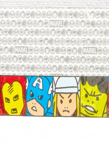 Nappe en plastique Avengers™ pop comic 120 x 180 cm-1