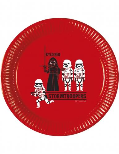8 Assiettesen carton Star Wars Forces™ 23 cm