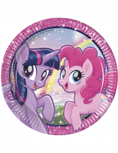 8 Assiettesen carton 23cm Pony & Friends™