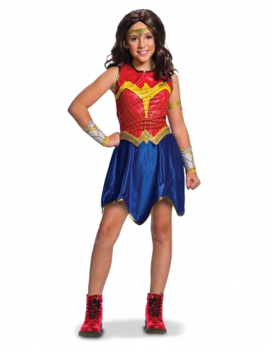 Déguisement classique Wonder Woman Justice League™ fille-1