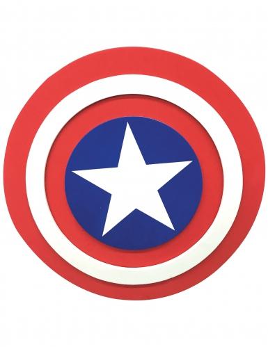 Bouclier en mousse Captain America™ 30 cm enfant