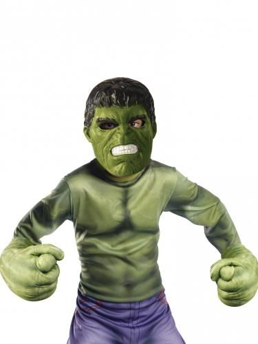 Kit masque et gants géants Hulk™ enfant