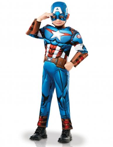 Déguisement luxe Captain America™ série animée garçon-2