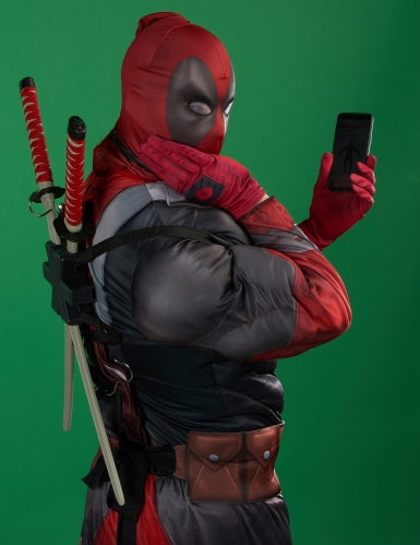 Déguisement luxe Deadpool 2™ adulte-2