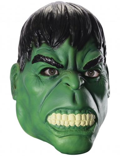 Masque latex Hulk™ adulte