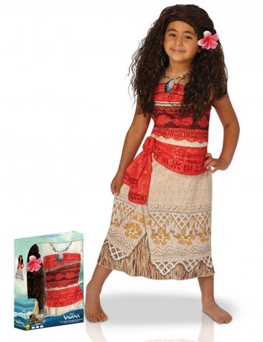 Coffret déguisement classique Vaiana™ avec perruque fille