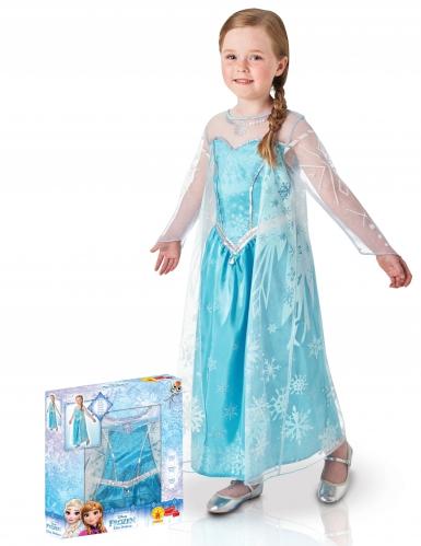 Coffret déguisement luxe Elsa™ fille