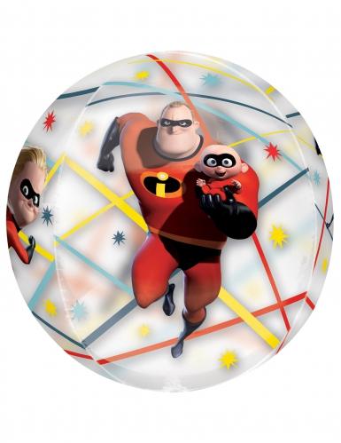 Ballon rond aluminium Les Indestructibles™ 40 X 40 cm