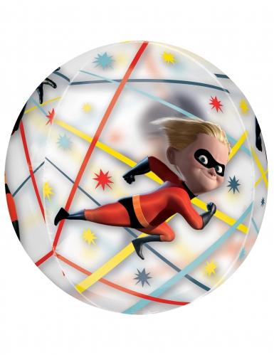 Ballon rond aluminium Les Indestructibles™ 40 X 40 cm-1