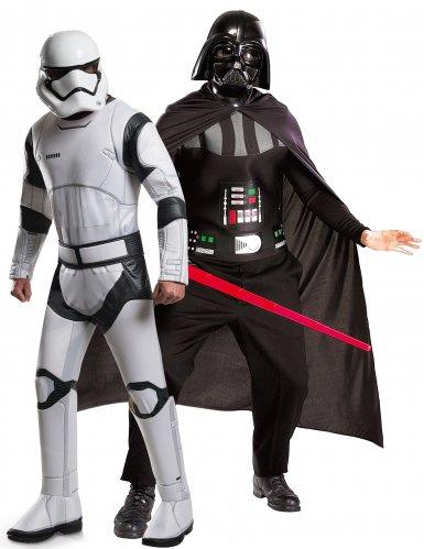 Déguisement couple Dark Vador et Stormtrooper - Star Wars™