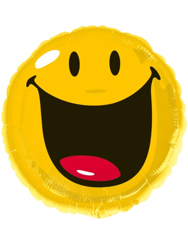 Ballon en aluminium Smiley World™ 43 cm