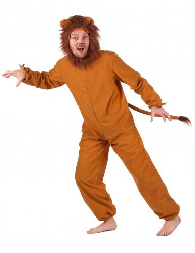 Déguisement lion fauve homme-1