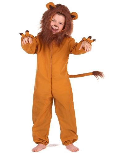 Déguisement lion effet polaire enfant