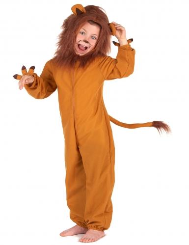 Déguisement lion effet polaire enfant-1