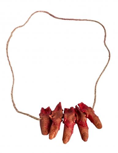 Collier avec doigt coupés-1