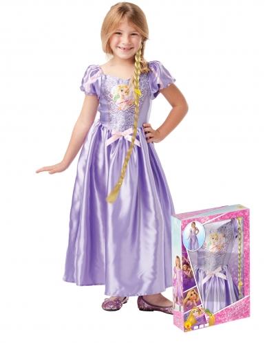 Coffret princesse Raiponce™ avec sequins et tresses fille