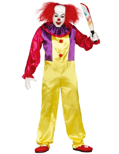 Déguisement clown tueur adulte