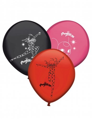 8 Ballons en latex Ladybug™