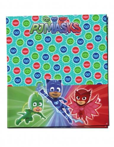 Nappe en plastique Pyjamasques™ 120 x 180 cm