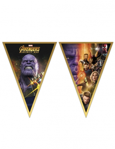 Guirlande fanions Avengers Infinity War™ 230 X 25 cm