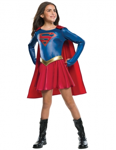 Déguisement Supergirl™brillant fille