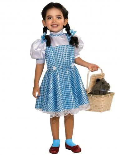 Déguisement Dorothy Le magicien d'Oz™ avec sequins fille-1