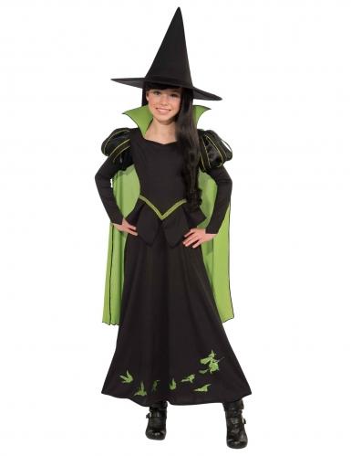 Déguisement sorcière Elphaba Le magicien d'Oz™ fille