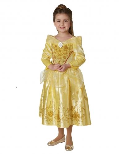 Déguisement princesse de l'hiver Belle™ avec cape fille-1