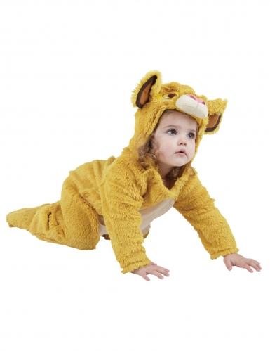 Déguisement lion peluche Simba™ bébé