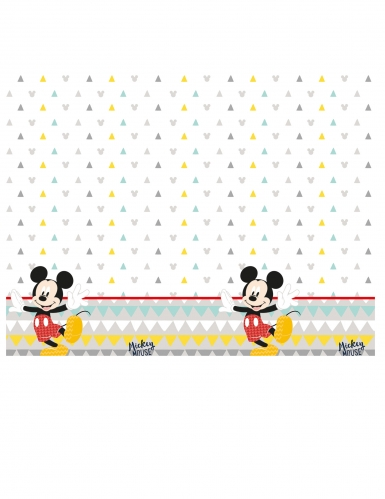 Nappe en plastique premium Mickey™120 x 180 cm