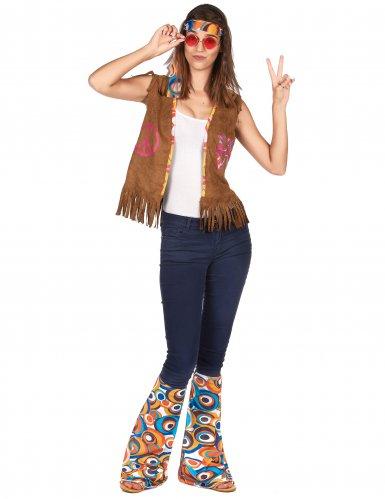 Kit accessoires hippie rétro adulte