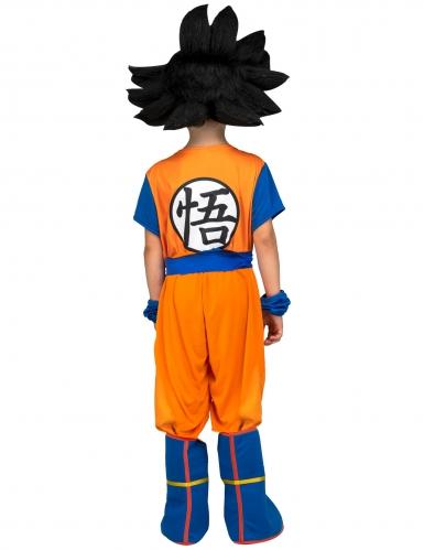 Coffret déguisement avec perruque Goku Dragon Ball™ enfant-2