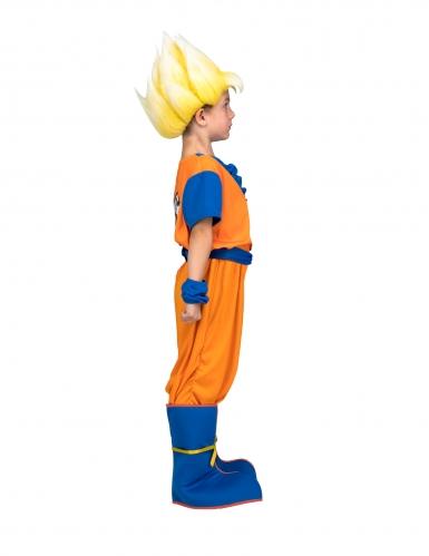 Coffret déguisement Super Saiyan Goku Dragon Ball™ enfant avec perruque-1