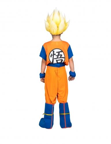 Coffret déguisement Super Saiyan Goku Dragon Ball™ enfant avec perruque-2