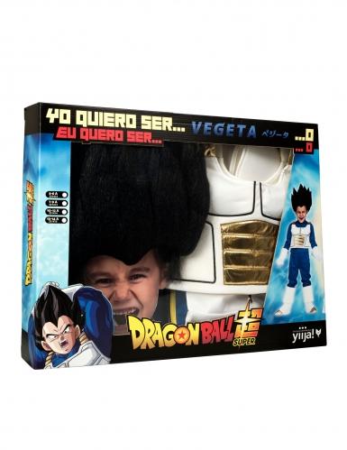 Coffret déguisement avec perruque Vegeta Dragon Ball™ enfant-3