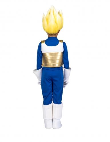 Coffret déguisement Super Saiyan Vegeta Dragon Ball™ enfant avec perruque-2