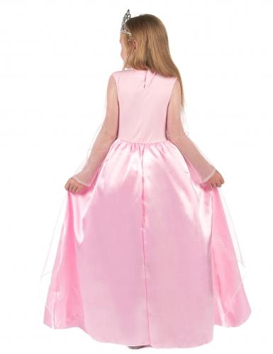 Déguisement princesse rose pour fille-2