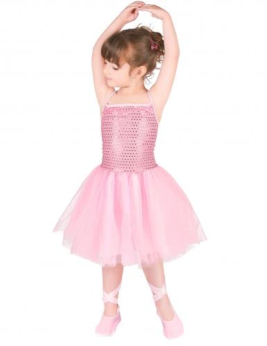 Déguisement danseuse étoile rose fille-1