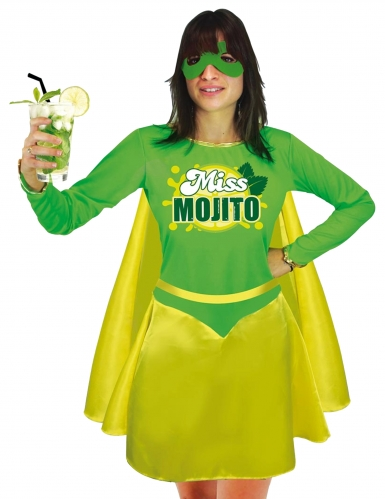Déguisement Miss Mojito femme