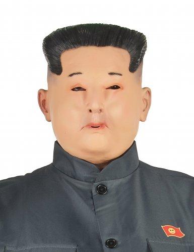 Masque latex dictateur adulte