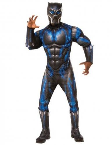 Déguisement deluxe combat Black Panther Endgame™ adulte